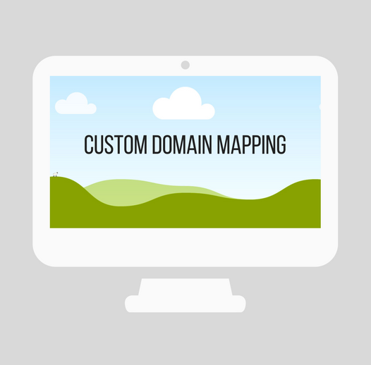 Custom Domain Mapping on twitter mapping, content mapping, field mapping, system mapping, topology mapping, forest mapping, title mapping, identity mapping, account mapping, site mapping,